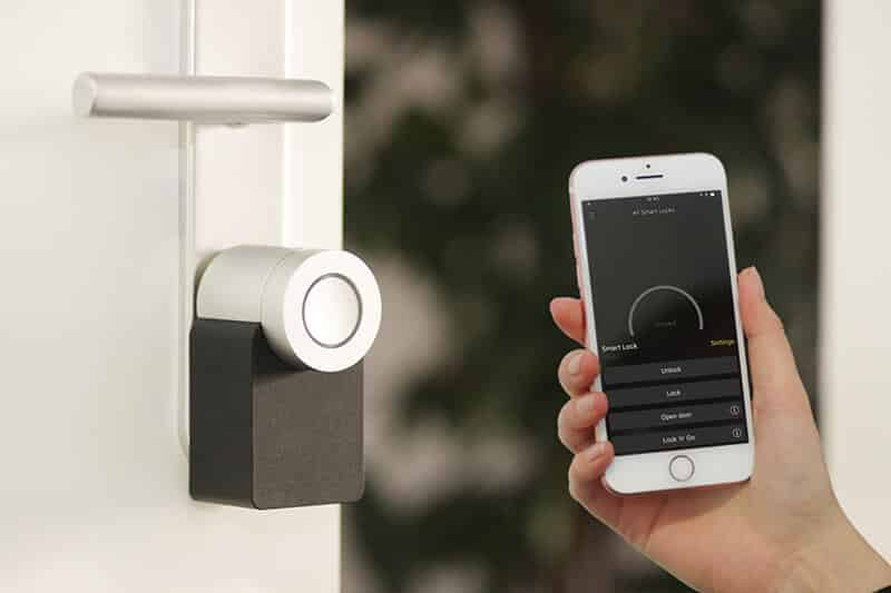 smart lock installation Home Security Systems
