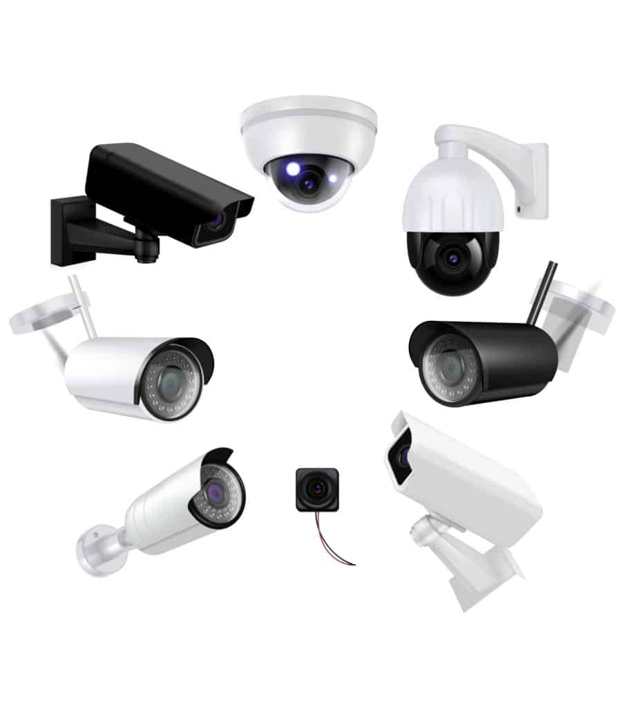 Types of Surveillance camera systems